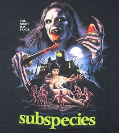 new fright rags subspecies movie t-shirt 3xl vampire horror thin terror #80s from $24.99