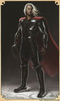 More Cool Concept Art for THOR: THE DARK WORLD — GeekTyrant