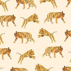 Motif tigres par Sar