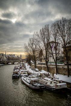 La Seine en hiver