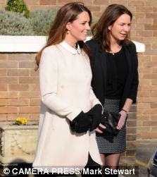 Becca Deacon, the Duchess's 30-year-old private secretary and confidante, is a key player in 'Team Kate'. Pictured here with Kate, the ambitious vicar's daughter has worked for the Duchess since 2010 and is known for her meticulous time-keeping and 'copy Kate' sense of dress.