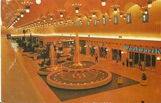 Eastwood Mall Complex circa 1970s, That ceiling is amazing