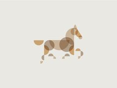 Horse new designed by Sean O'Grady. Connect with them on Dribbble; Graphic Design Print, Graphic Design Illustration, Logo Caballo, Horse Illustration, Horse Logo, Organic Art, Animal Logo, Horse Art, Art Logo