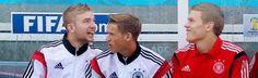 christoph kramer, erik durm und matthias ginter #welmeister #deutschland #boys #durm #kramer #ginter