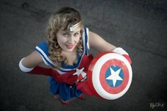 Sailor Captain America // avengers series // original cosplay
