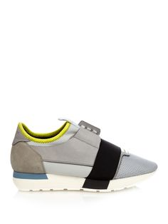 Multi-panel low-top trainers | Balenciaga | MATCHESFASHION.COM UK