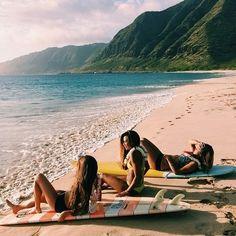 Sunset Surf or Sunbathe...same same in enjoyment shared with good buddies! x