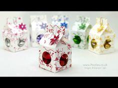 Stampin' Up! Demonstrator Pootles - Tiny Milk Carton Chocolate Egg Boxes
