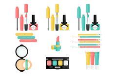 Mascara Clip Art | Pretty Things Makeup Clip Art ~ Illustrations on Creative Market