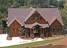 Exclusive Mountain Craftsman - 92368MX | Country, Craftsman, Mountain, Vacation, Exclusive, Photo Gallery, 1st Floor Master Suite, CAD Available, Den-Office-Library-Study, In-Law Suite, Jack & Jill Bath, Loft, MBR Sitting Area, Media-Game-Home Theater, PDF, Sloping Lot | Architectural Designs