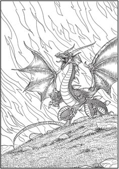Welcome To Dover Publications Creative Haven Winged Fantasy Designs Coloring Book