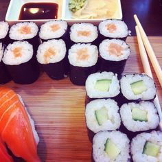 Sushi sounds so good right now.