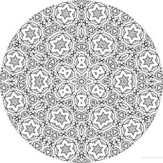 coloriage anti stress colorier en ligne mandala coloriage adulte via dessin2mandala