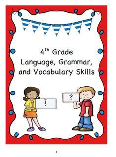 Standard 6 english grammar book