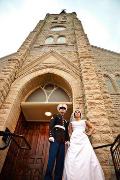 Marine Corps Wedding:)