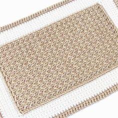 Crochet Rectangle Rug | Craftsy
