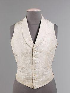 Evening Vest 1850-1855 The Metropolitan Museum of Art