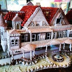 This villa where you'll never need to hear your roommate having sex. | 19 Gingerbread Houses That Are Nicer Than Your Actual House