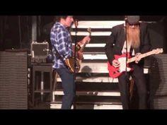 John Fogerty and ZZ Top - Sharp Dressed Man - YouTube