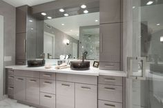 We provide helpful services like free design consultation and professional installation to make remodeling your kitchen and bathrooms be completed Bathroom Remodeling Contractors, Bathroom Renovations, Bathrooms, Party Food Themes, Modern Master Bathroom, Elegant Kitchens, Custom Kitchens, Traditional Bathroom, Bath Remodel