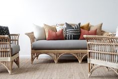Daybeds | Naturally Cane Rattan and Wicker Furniture