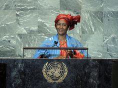 Cisse Mariam Kaidama Sidibe, Prime Minister of Mali