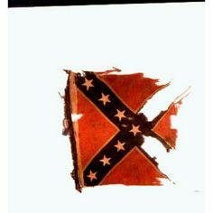 Regimental Battle flag of the 64th Georgia Infantry Regiment.
