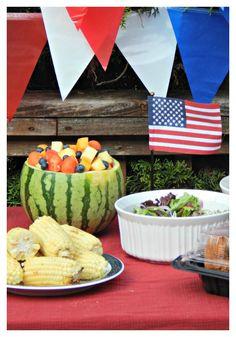 #AD 4th of July menu idea and inspiration via @melissakaylene #summeryum
