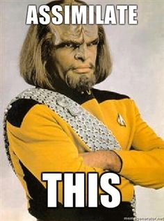 First contact line from Worf New Star Trek, Star Trek Tos, Star Wars, Star Trek Quotes, Deep Space 9, Starship Enterprise, Big Star, Girl Problems, Best Tv
