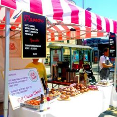 If you're strolling through #Bristol Harbourside Market on a Saturday, pop by @bigodonutco for a tasty selection of #donuts for just £2!  #sugar #sweettooth #food #student deals #harboursidemarmet