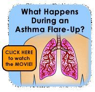 Watch this 2.5 min video to teach your kids (and self) more about breathing, airways, and asthma flare-ups caused by inflammation, mucus, bronchoconstriction,