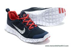 finest selection a57db a31d4 More and More Cheap Shoes Sale Online,Welcome To Buy New Shoes 2013 Nike  Free Powerlines II Mens Navy Sport Red Silver White  Nike Free 2013 - Nike  Free ...