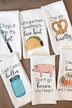 Baller Kitchen Towels - Kitchen Decor - Hostess Gift - Dish Towels - Housewarming Gift - Gift For Mom - Wedding Shower Gift - Hand Towels Baller Kitchen Towels - Kitchen Decor - Hostess Gift - Dish Towels - Housewarming Gift - Gift For Mo Diy Gifts, Gifts For Mom, Handmade Gifts, Gift Crafts, Dish Towels, Tea Towels, Hand Towels, Kitchen Towels, Kitchen Decor