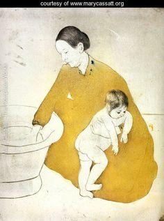 The Bath - Mary Cassatt - www.marycassatt.org