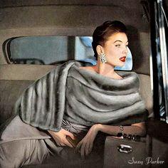 model Susie Parker