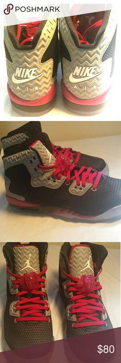 41a8520a1c Nike Jordans Pink, black and grey jordans. Never worn. Jordan Shoes Black  And