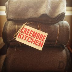 CREEMORE KITCHEN WINTER ACCESSORY 2013/14 VINTAGE ARMY BLANKETS
