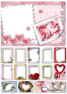 Wedding Frame Big Collection Graphics