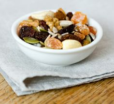 Non-Perishable Healthy Snacks--would be great for travel