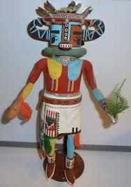 Hopi Kachina - tried to find one that wasn't too terrifying, cos these dolls scare the crap outta me!!