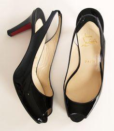 Perfect black Louboutin's Black Louboutins, Christian Louboutin Heels, Shoe Boots, Shoes Heels, Pumps, Happy Shoes, Mode Shoes, Beautiful Shoes, Manolo Blahnik