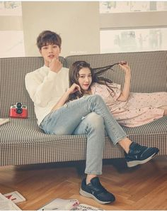 Wgm Couples, Kpop Couples, Cute Couples, Sungjae And Joy, Sungjae Btob, We Got Married Couples, We Get Married, Kim Ji Won, Themes Photo