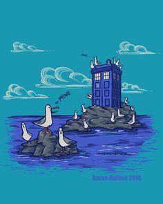 karenhallion:  The Seagulls have the Phonebox