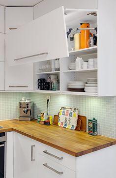 Fantástico dúplex con almacenaje en las escaleras - Estilo nórdico | Blog decoración | Muebles diseño | Interiores | Recetas - Delikatissen
