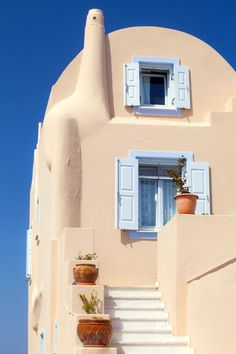 Санторини – белоснежный греческий остров