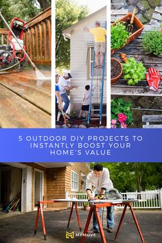 Boost curb appeal before listing your house. Moving Costs, Moving Tips, Outdoor Projects, Diy Projects, Outdoor Decor, Home Board, Next At Home, Home Hacks, Home Values