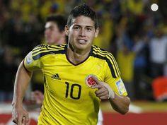 James Rodríguez, una de les grans sensacions del Mundial 2014 amb Colòmbia.