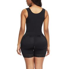 US$ 118.98 - Women Full Body Butt Lifter Shapewear - www.pkcoco.com Best Body Shapewear, Women's Shapewear, Full Body Suit, Fitness Workout For Women, One Piece Bodysuit, African Dresses For Women, One Piece For Women, Buy Dress, Plus Size Outfits