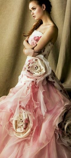 Rose gown.