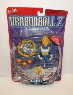 S.S. Goku Action Figure Dragonball Z SQUISHED PACKAGE Cell Games Saga DBZ  #IRWIN Dbz Toys, Toy Sale, Cool Toys, Dragon Ball Z, Saga, Nerdy, Action Figures, Best Gifts